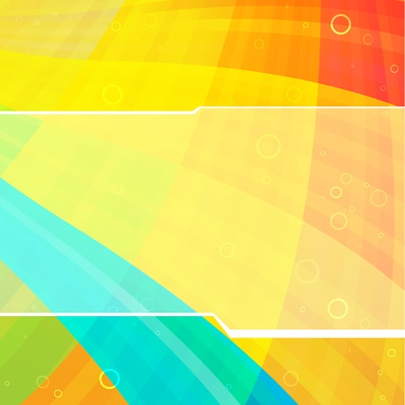 Abstract Hi-tech background. Clip-art Vector