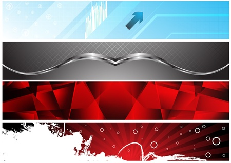 Banners for web (Vector collection2). Clip-art Stock Vector - 9930204
