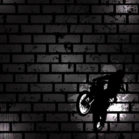 Abstracte zwarte achtergrond. Clip-art Stock Illustratie