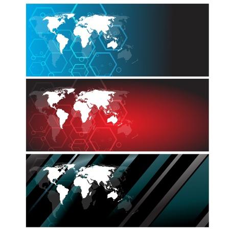Bank Światowy: Streszczenie twórczej tle. Clip-art Ilustracja