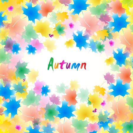 Autumn illustration. Clip-art Vector