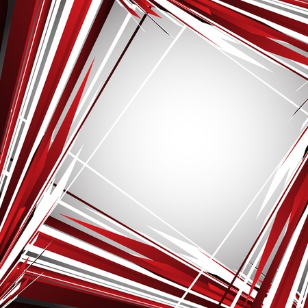 red line: Abstract background Illustration