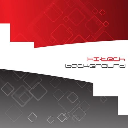 Hi-tech background. Vector Illustration. Clip-art Vector