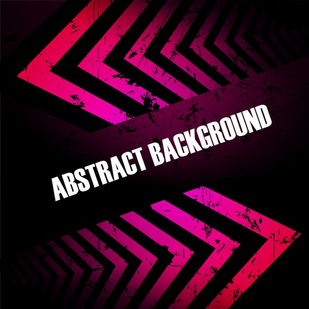hi tech background: Abstract colored background with arrows. Clip-art Illustration