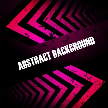 Abstract gekleurde achtergrond met pijlen. Clip-art