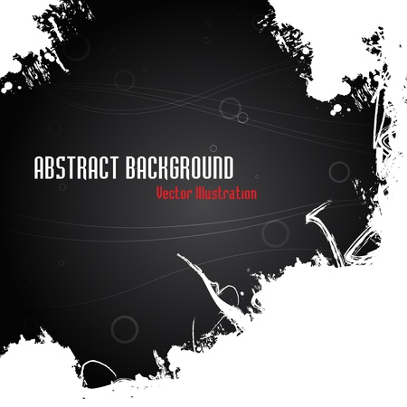 Abstract grunge background. Clip-art Illustration