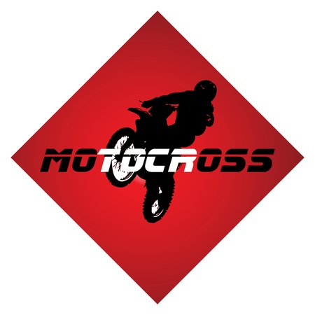 motorcycle accidents: Racing vector. LOGO. Clip-art