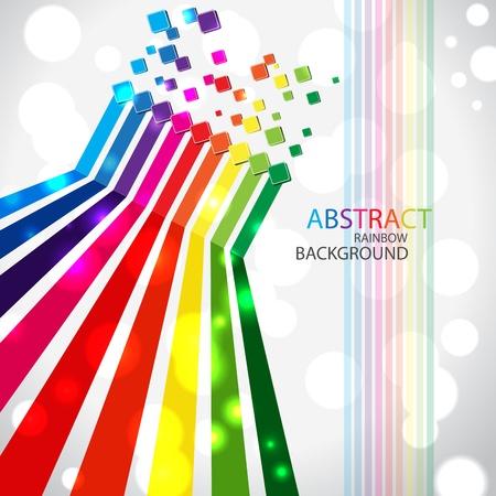 Abstracte achtergrond illustratie. Clip-art Stock Illustratie