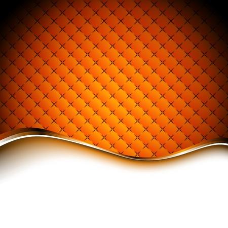 オレンジ抽象背景イラスト。クリップ アート