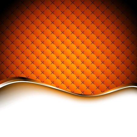 Abstract orange background illustration. Clip-art