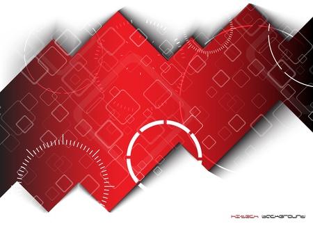 Abstract hi-tech achtergrond Clip-art