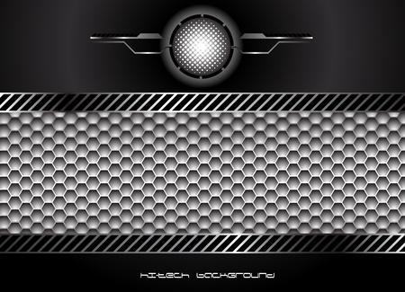 vent: Abstract hi-tech background  Clip-art Illustration