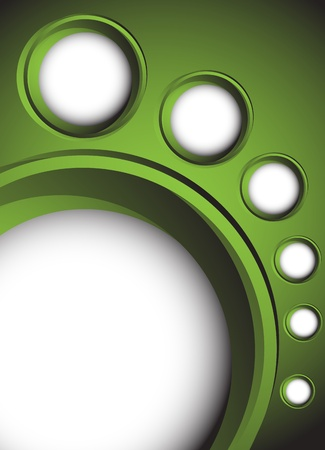 Abstract green background. Clip-art