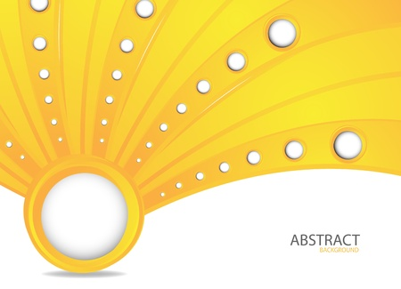 Abstract orange background  Clip-art Stock Vector - 13673813