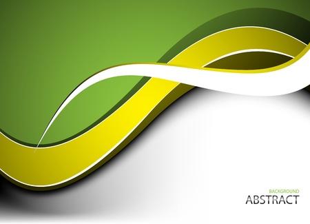 抽象的なグリーン背景クリップ アート