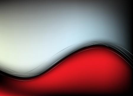 vermelho: Fundo vermelho Grampo-arte abstrata Ilustração