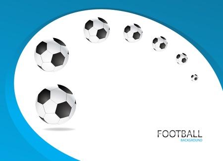 Football Background Template Vector Design  Clip-art Vector