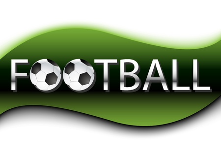 Football Background  Vector  Clip-art Vector
