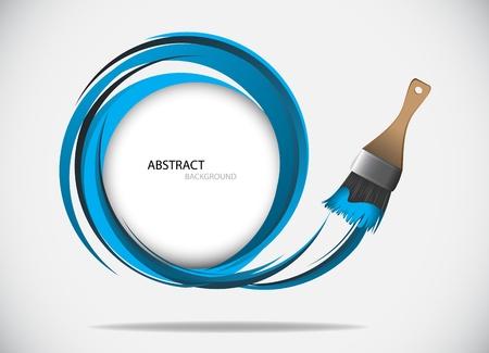 brush: Pintura Ilustraci�n cepillo de Clip-art