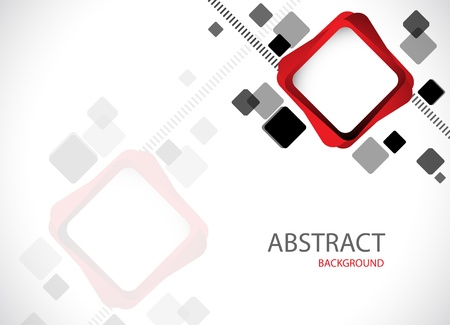 cuadrados: Abstract hi-tech background clip-art Vectores