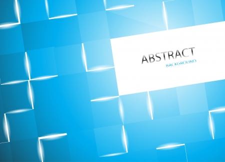 Blue square background. Clip-art Stock Vector - 16682008