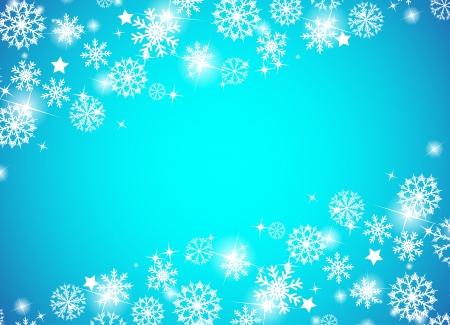 Christmas beautiful blue background. Clip-art Stock Vector - 16682147