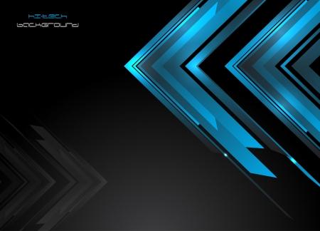 hi speed: Abstract hi-tech background  Vector  Clip-art