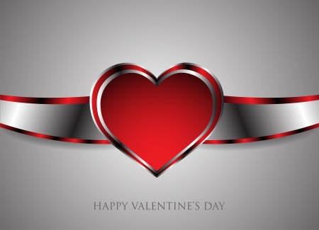 Background happy Valentine Stock Vector - 17249015