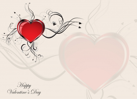 Gift card  Valentine Stock Vector - 17249013