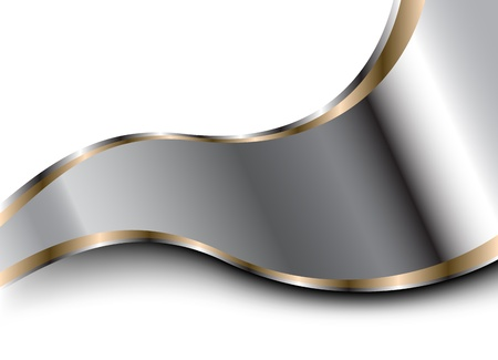 Vector metallic background  Clip-art