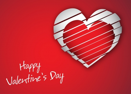 Gift card  Happy Valentine Vector
