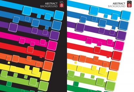 Abstract rainbow background  Clip-art Stock Vector - 17565256