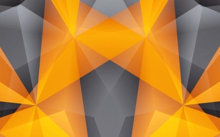 fond abstrait orange: R�sum� fond orange Clip-art Illustration