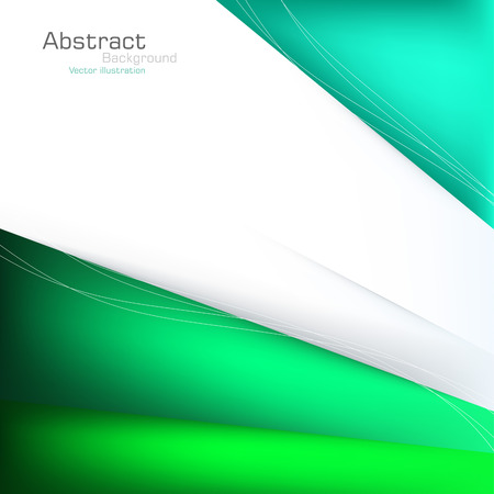 communicative: Abstract green background  Vector  Clip-art