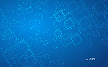 Abstract blue hi-tech background  Clip-art Vector