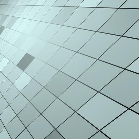 wall angle corner: Square background Illustration