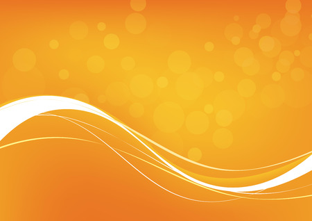 blinding: Abstract orange background. Vector. Clip-art Illustration