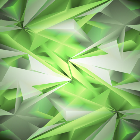 Abstract green background. Vector. Clip-art Vector