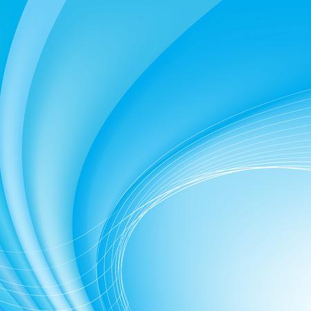 Abstract blue background. Vector illustration. Clip-art Vector