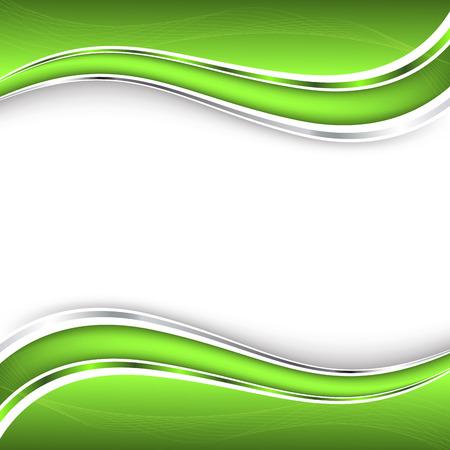 抽象的な緑の背景。  イラスト・ベクター素材
