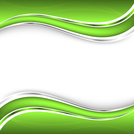 Resumen de fondo verde.