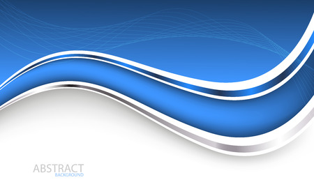 Beautiful blue background. Vector Illustration. Clip-art Vector