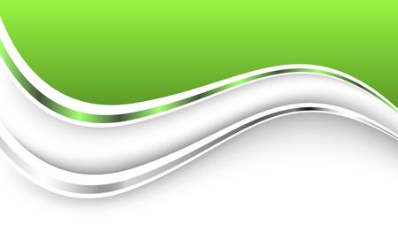 Mooie groene achtergrond. Vector Illustratie. Clip art