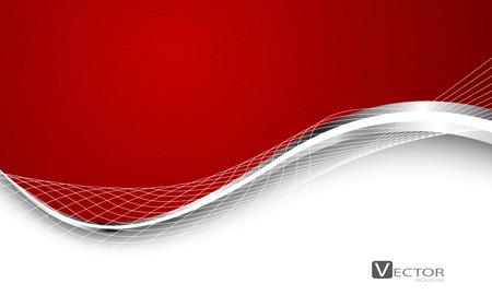Elegante astratto sfondo rosso. Vector. Clip-art Archivio Fotografico - 36475875