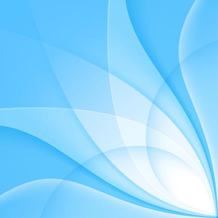 Abstract blue background. Vector Illustration. Clip-art Reklamní fotografie - 36801001
