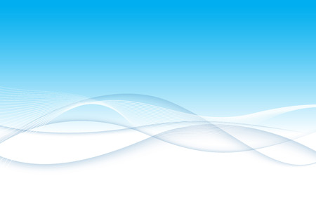 Modern abstract blue swoosh wave certificate background. Vector illustration. Clip-art