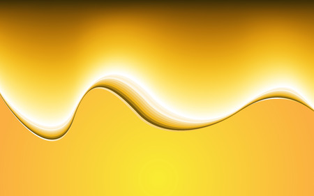 fond abstrait orange: R�sum� fond orange. Vector Illustration. Clip-art Illustration