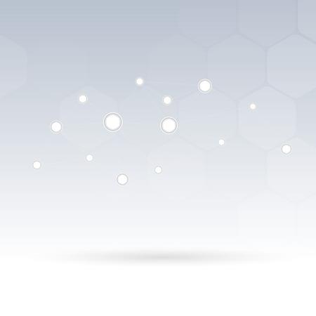 vector  molecular: molecular connection hi-tech structure. Vector illustration. Clip-art Illustration