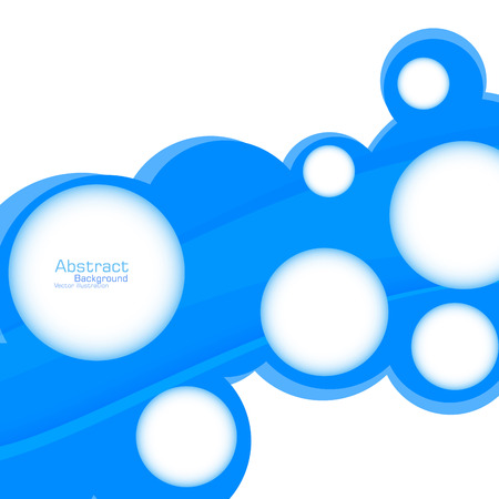 ntsc: Abstract web design bubble. Vector. Clip-art