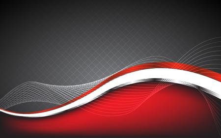 スタイリッシュな抽象的な赤背景。ベクトルの図。クリップ アート